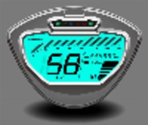 Kilometerteller Digitaal Sourini S/RS