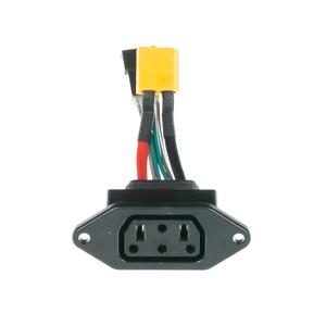 Oplaadconnector SS-plat