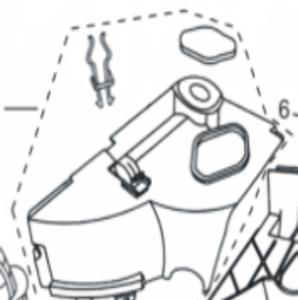 Koelkap cylinder bovenzijde Euro5