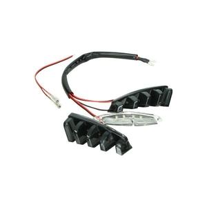 Led verlichting voorscherm boven 3-delig zip sp/ zip2000 DMP