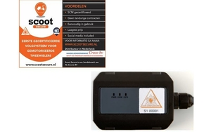 ScootSecure GPS volgsysteem