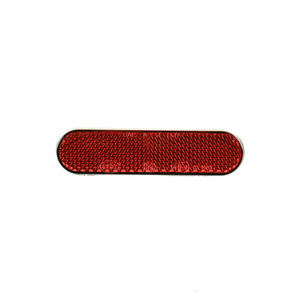 Reflector achterspatbord rood SS-CUX