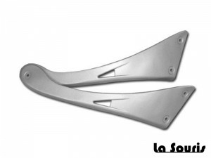 Sideskirts Retro Scooter • Set • Aluminium