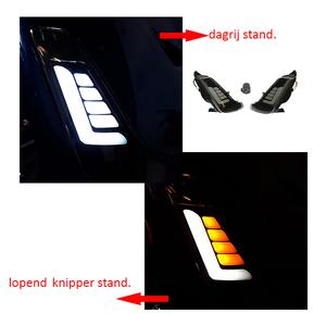 LED Knipperlichten set • Smoke • Zwart