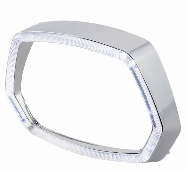 LED Koplamp unit • Helder • Chroom
