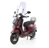 Vespa • Sprint 50 - Custom Full Option - EURO5 • Mat Bordeaux Rood