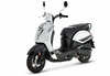 SYM • Mio 50i E5 • Zwart/Wit (white-black)