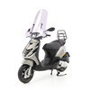 Piaggio • Zip SP Custom Full Option E5 • Porsche Agaat Grijs