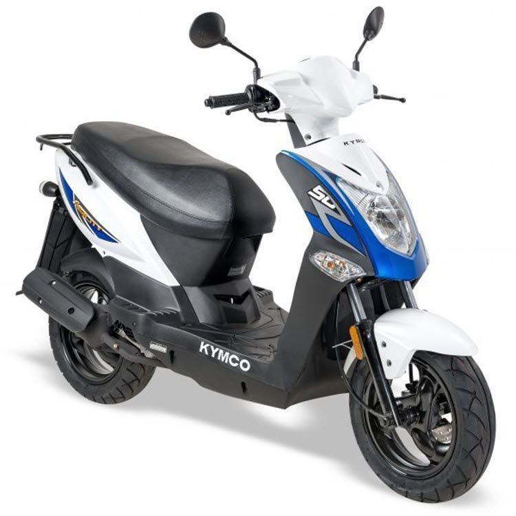 Kymco • FR 12 Inch Lang • Wit Blauw
