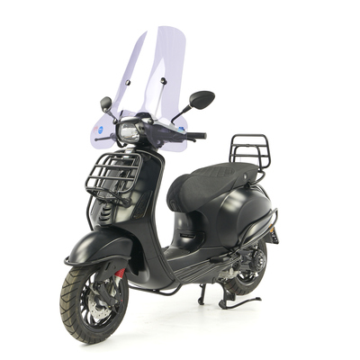 Vespa • Sprint 50 - Custom Full Option - EURO5 • Mat Zwart