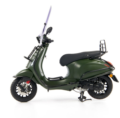 Vespa Sprint 50 - Custom Full Option - EURO5 • Mat Groen  (2)