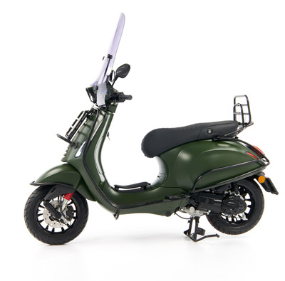Vespa Sprint 50 - Custom Full Option - EURO5 • Mat Groen  (3)