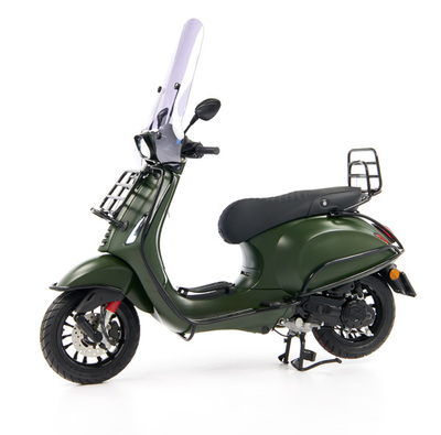 Vespa Sprint 50 - Custom Full Option - EURO5 • Mat Groen  (5)
