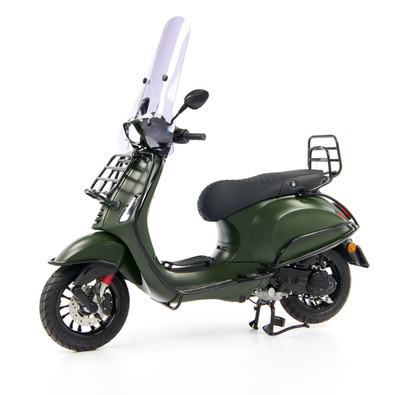 Vespa Sprint 50 - Custom Full Option - EURO5 • Mat Groen  (6)
