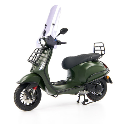 Vespa Sprint 50 - Custom Full Option - EURO5 • Mat Groen  (7)
