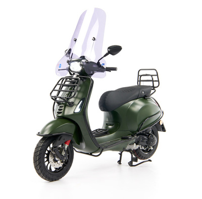 Vespa Sprint 50 - Custom Full Option - EURO5 • Mat Groen  (10)