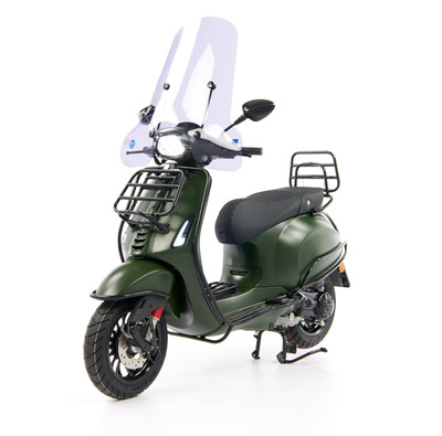 Vespa Sprint 50 - Custom Full Option - EURO5 • Mat Groen  (1)