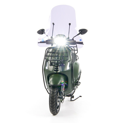 Vespa Sprint 50 - Custom Full Option - EURO5 • Mat Groen  (15)