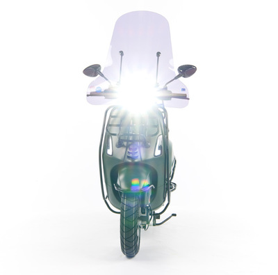 Vespa Sprint 50 - Custom Full Option - EURO5 • Mat Groen  (16)