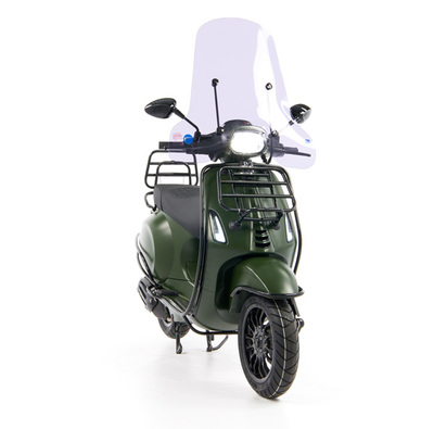 Vespa Sprint 50 - Custom Full Option - EURO5 • Mat Groen  (21)