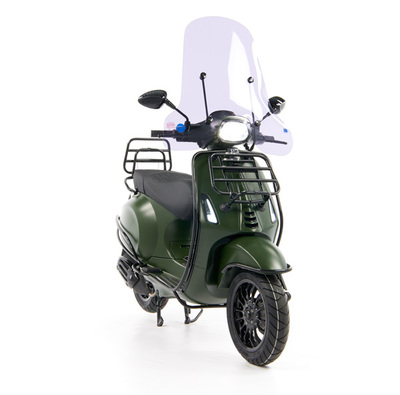 Vespa Sprint 50 - Custom Full Option - EURO5 • Mat Groen  (22)