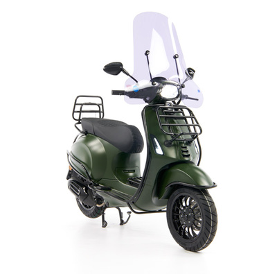 Vespa Sprint 50 - Custom Full Option - EURO5 • Mat Groen  (24)
