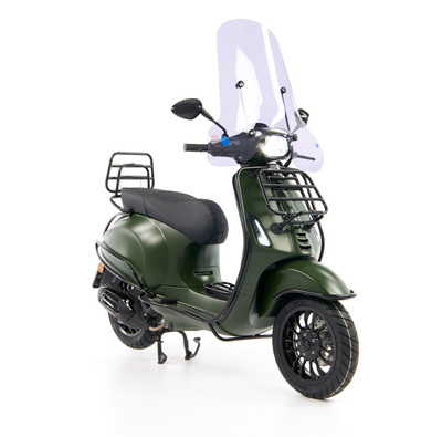 Vespa Sprint 50 - Custom Full Option - EURO5 • Mat Groen  (25)