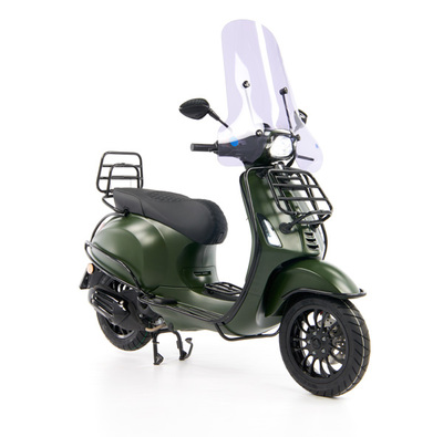 Vespa Sprint 50 - Custom Full Option - EURO5 • Mat Groen  (26)