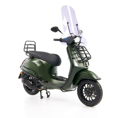 Vespa Sprint 50 - Custom Full Option - EURO5 • Mat Groen  (27)