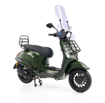 Vespa Sprint 50 - Custom Full Option - EURO5 • Mat Groen  (28)
