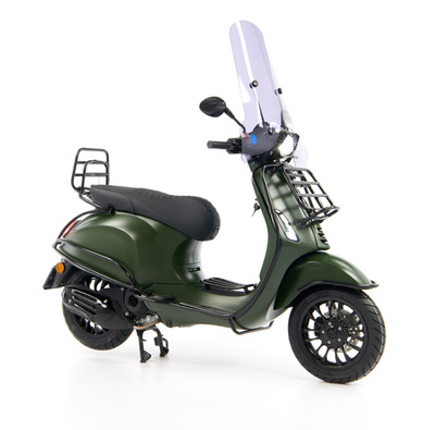 Vespa Sprint 50 - Custom Full Option - EURO5 • Mat Groen  (29)