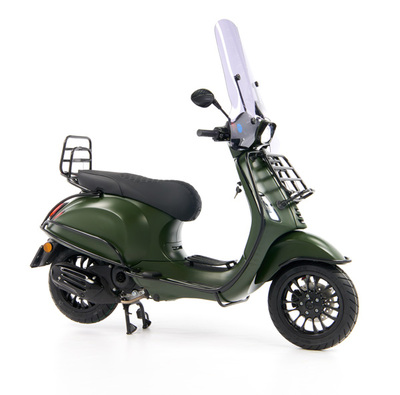 Vespa Sprint 50 - Custom Full Option - EURO5 • Mat Groen  (30)