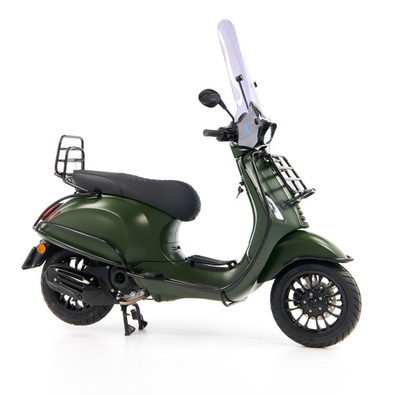 Vespa Sprint 50 - Custom Full Option - EURO5 • Mat Groen  (31)