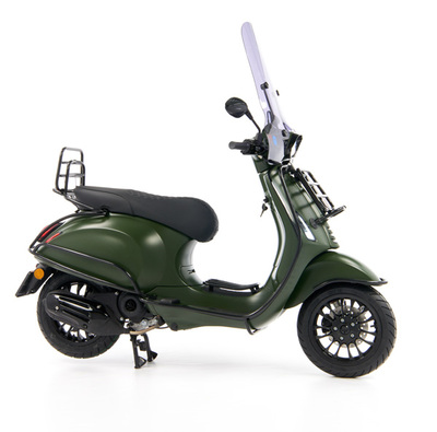 Vespa Sprint 50 - Custom Full Option - EURO5 • Mat Groen  (32)
