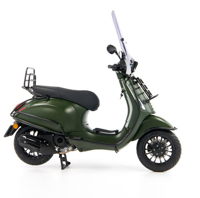 Vespa Sprint 50 - Custom Full Option - EURO5 • Mat Groen  (33)
