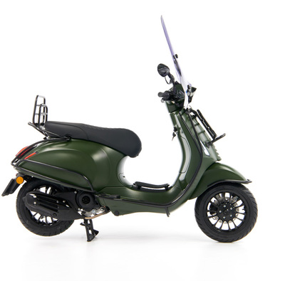 Vespa Sprint 50 - Custom Full Option - EURO5 • Mat Groen  (34)