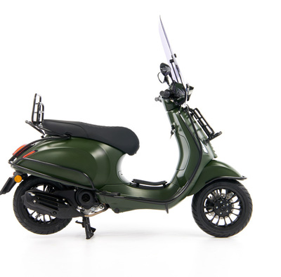 Vespa Sprint 50 - Custom Full Option - EURO5 • Mat Groen  (35)