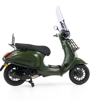 Vespa Sprint 50 - Custom Full Option - EURO5 • Mat Groen  (37)