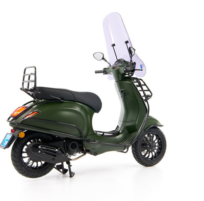 Vespa Sprint 50 - Custom Full Option - EURO5 • Mat Groen  (41)