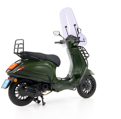 Vespa Sprint 50 - Custom Full Option - EURO5 • Mat Groen  (42)