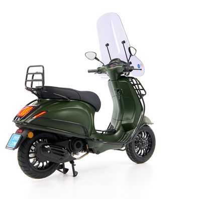 Vespa Sprint 50 - Custom Full Option - EURO5 • Mat Groen  (43)