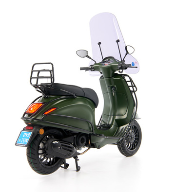 Vespa Sprint 50 - Custom Full Option - EURO5 • Mat Groen  (45)