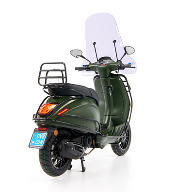 Vespa Sprint 50 - Custom Full Option - EURO5 • Mat Groen  (47)