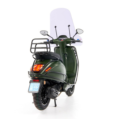 Vespa Sprint 50 - Custom Full Option - EURO5 • Mat Groen  (49)