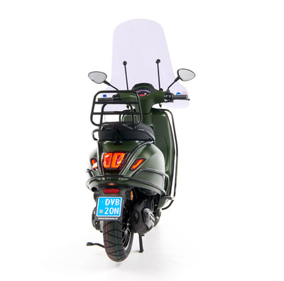 Vespa Sprint 50 - Custom Full Option - EURO5 • Mat Groen  (51)