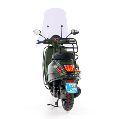 Vespa Sprint 50 - Custom Full Option - EURO5 • Mat Groen  (55)