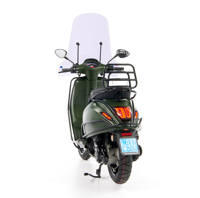 Vespa Sprint 50 - Custom Full Option - EURO5 • Mat Groen  (56)