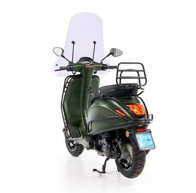 Vespa Sprint 50 - Custom Full Option - EURO5 • Mat Groen  (58)