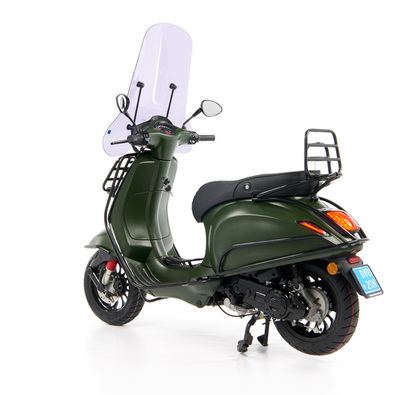 Vespa Sprint 50 - Custom Full Option - EURO5 • Mat Groen  (63)