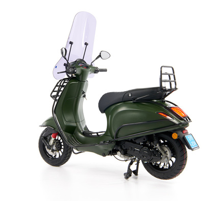 Vespa Sprint 50 - Custom Full Option - EURO5 • Mat Groen  (64)